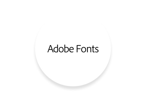 Integration with Adobe Fonts